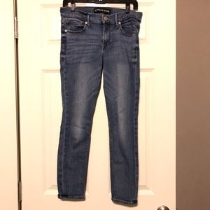 Express Stretch Midrise Skinny Jeans Size 6 Short
